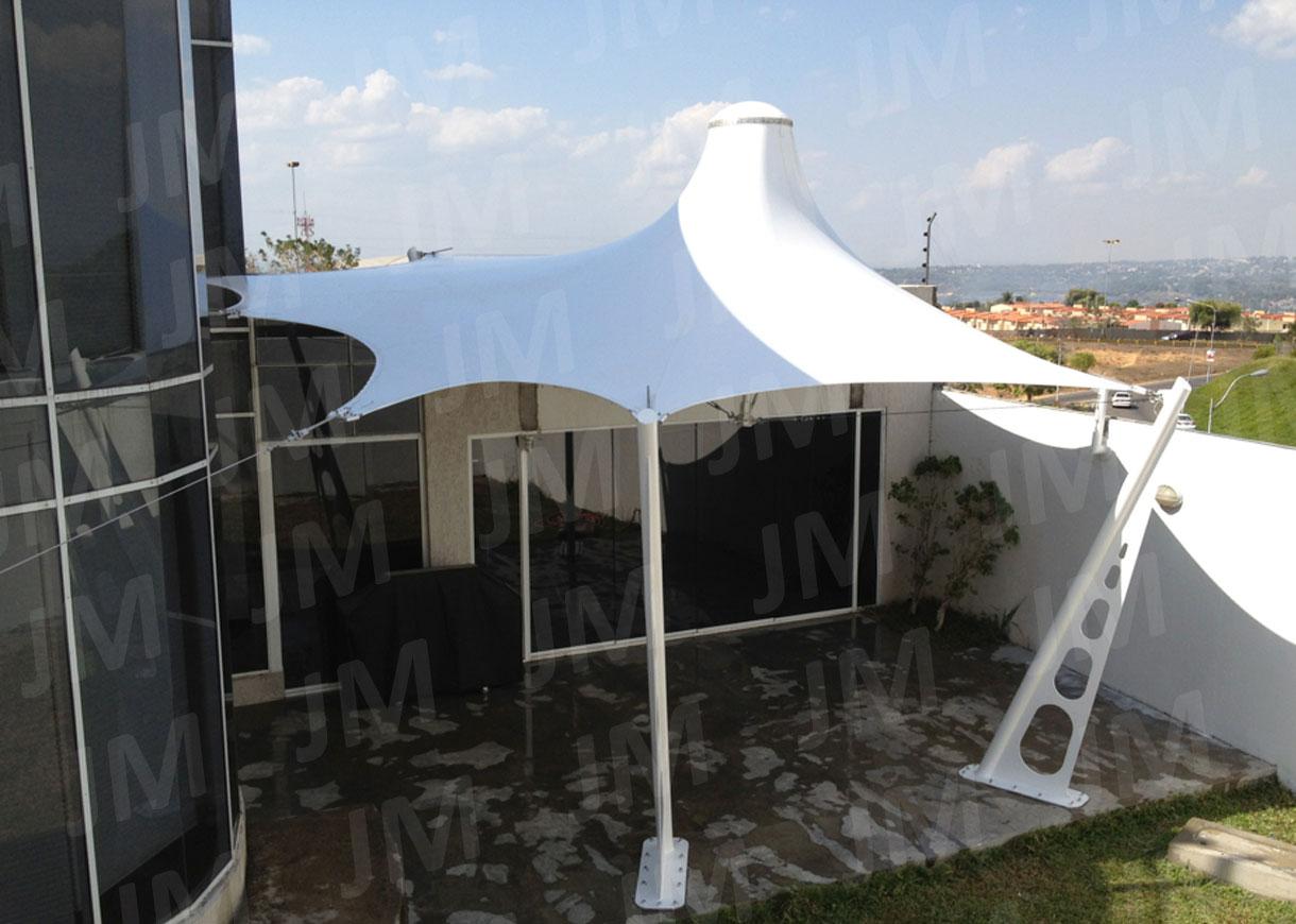 Velaria 2 spazio solare for Toldos para terrazas en azoteas
